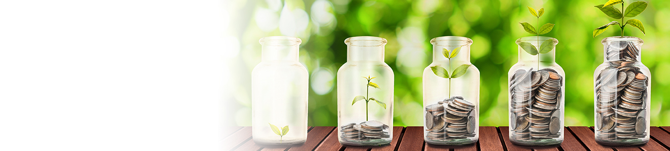 Growing Money Jars