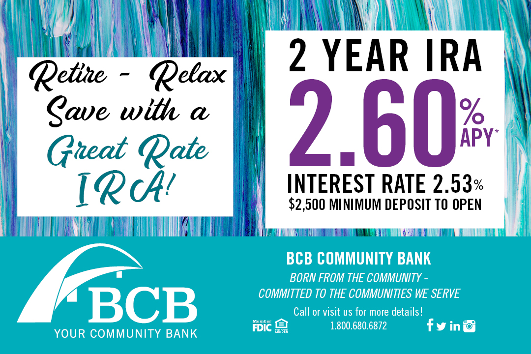 2 Year IRA BCB Bank Retirement
