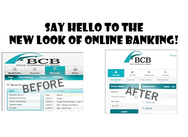 New online banking experience image