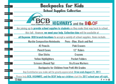 Backpack for kids 2017