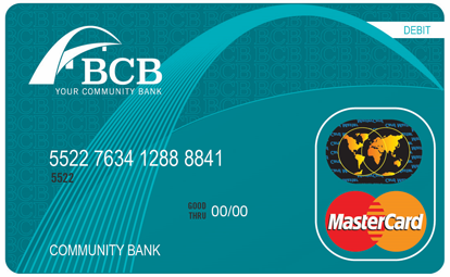 Personal Debit Card Image