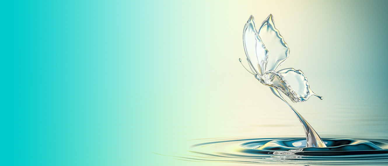 Home Page image Butterfly in Water