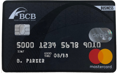 Business Debit Card Image