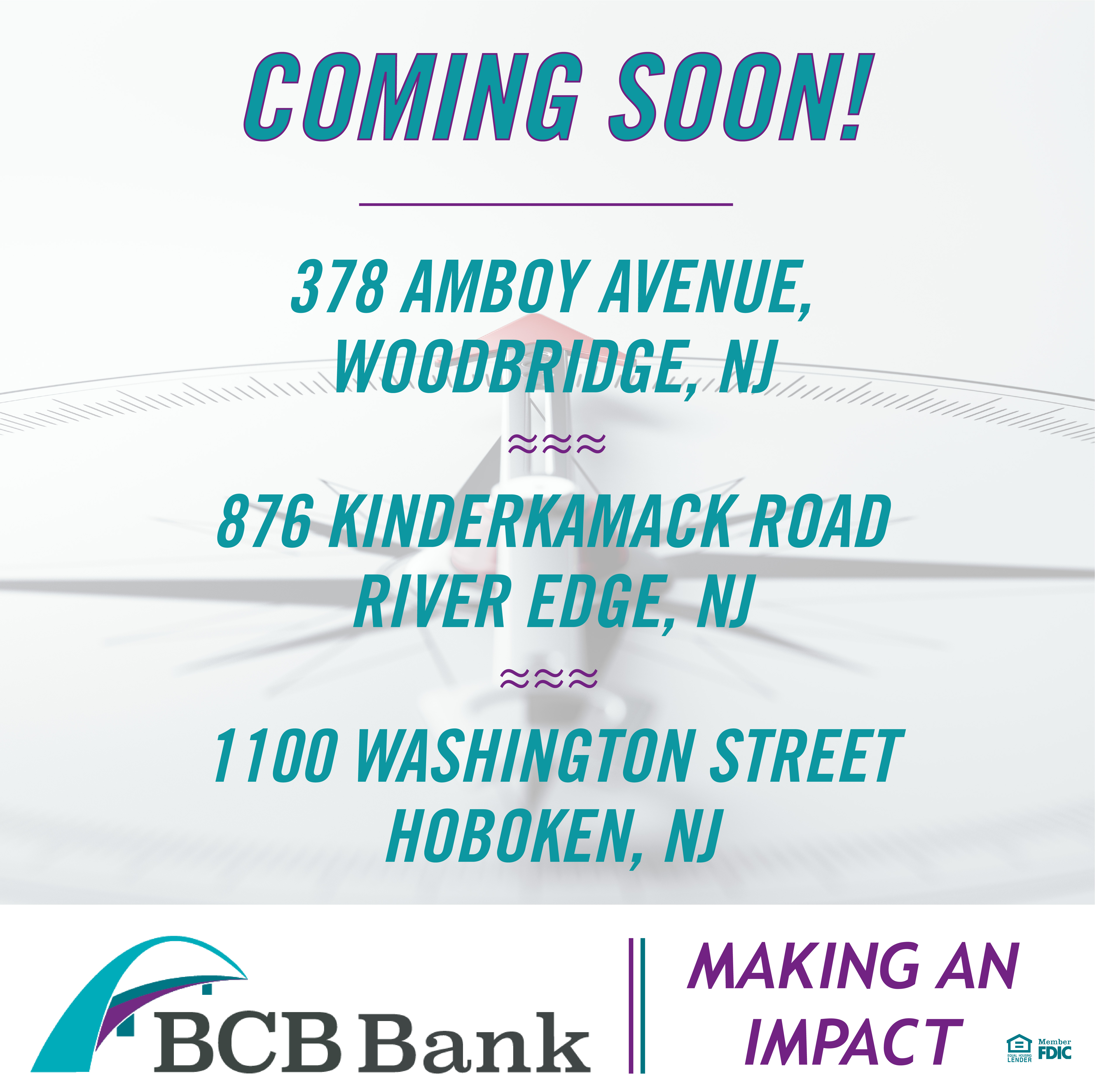 Coming Soon New branches