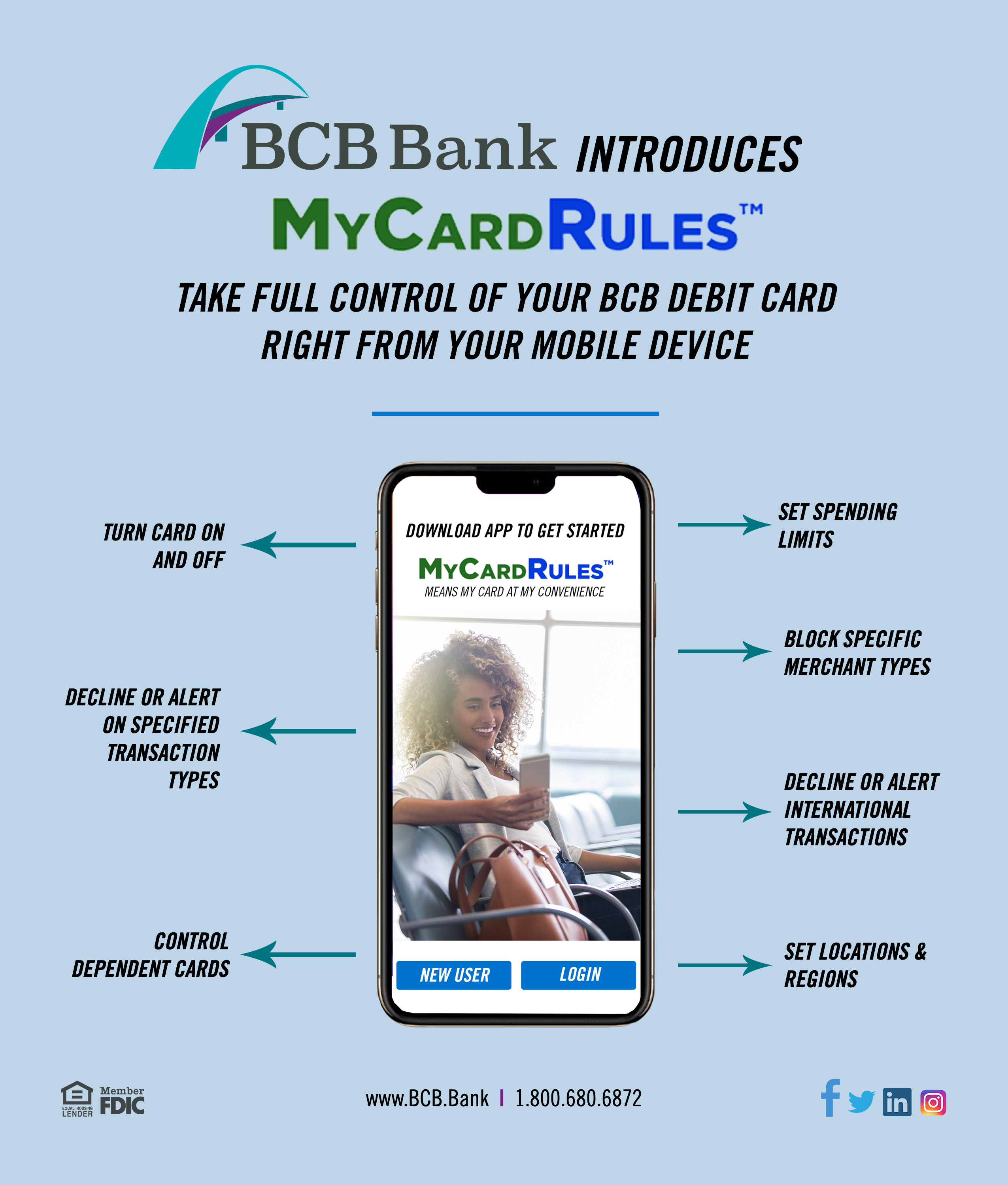 My Card Rules from BCB Bank